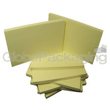 """12 x grand repositional POST IT STYLE note pads 5 """"x3"""""""