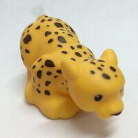 Fisher-Price Little People Zoo Field Leopard Animal figure kid Toy Doll gift