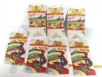 McDonalds 1999 Hot Wheels Barbie Lot of 7 Happy Meal Paper Bags Gift Party