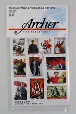Archer Fine Transfers 1/35 Russian Propaganda Posters WWII (24 Posters) AR35389