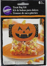 Candy Corn Halloween Treat Bag Kit 6 ct from Wilton #0447 - NEW
