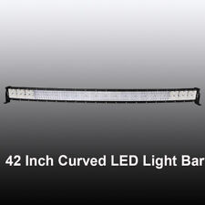 "9D+ 42""Inch 5152W Curved Led Light Bar Off road Fit For UTV Polaris RZR XP1K 40"""
