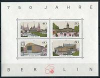 Berlin Block 8 I sauber postfrisch mit Plattenfehler I Michel 50 Euro MNH