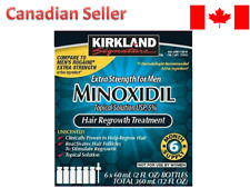 Kirkland Minoxidil5% Solution Men 6 Months FREE SHIPPING CANADA