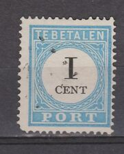 A2P3 Port nr.3 tanding A type 2 used NVPH Netherlands Nederland due portzegel
