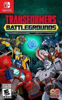 Transformers Battlegrounds Nintendo Switch Brand New Sealed