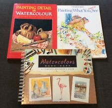 Artists 3 Book Lot  Coffee Table Home Decor Wyeth Art Philip P. Curtis FREE SHIP