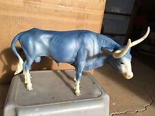 Breyer Model Horse Matte Wedgewood Texas Longhorn =)