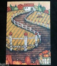 Leanin Tree Halloween Greeting Card Home House Fall Funny Multi Color HW1
