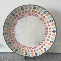 "Pier 1 PAINTED DESERT Dinner Plate 11"" Southwest Colors NWT"