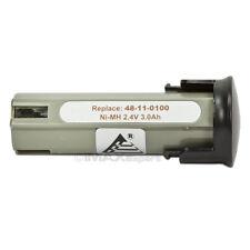 3000MAH 2.4V 2.4 VOLT Battery for MILWAUKEE 48-11-0100