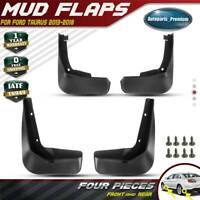 4PCS Splash Guards Mud Flaps Mudguards for Ford Taurus 2013-2017 Front & Rear