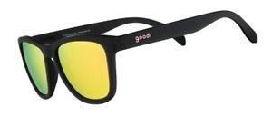 Goodr Unisex Polarised Running Sunglasses - Professional Respawner - Black