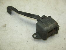 1980 YAMAHA XS 650 XS650 HERITAGE SPECIAL SEAT LATCH HANDLE LEVER + GOOD SPRING