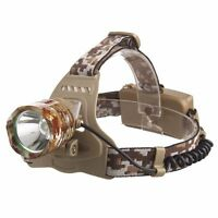 20000LM  XM-L T6 LED Camouflage Army Green Headlamp Head Head light Torch 18650