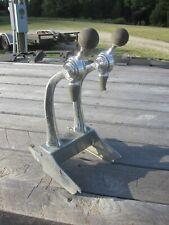 Vintage Duel Soda Jerk Fountain Head Tap Gooseneck Dispenser