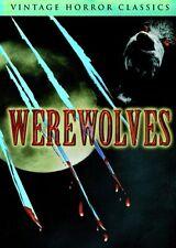 Werewolves Vintage Horror Classics REGION 1 BRAND NEW SEALED