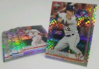2019 Topps Chrome X-Fractor Singles You Pick & Complete Your Set