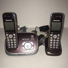 Panasonic KX-TG6572R DECT 6.0 Plus Expandable Cordless Phone KX-TGA653 Handset