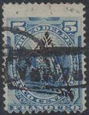 "PERU 1883 TRIANGLE Sc Unlisted Yvert 61a BLUE ""CAJABAMBA"" & ""PIURA"" CANCELS €95+"