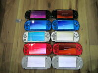 Sony PSP 3000 Lot of 10 Console Black Silver Red Blue White Pink Japan o517