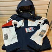 Helly Hansen Salt Light Waterproof Windproof Sailing Marine Jacket 597, SIZE M