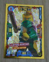 Lego® Ninjago Serie 5 Trading Card Game limitierte Auflage LE13 Lloyds Avatar