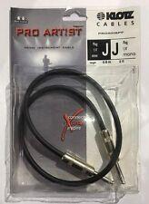 Klotz Pro Artist 0.6m Cable, Black