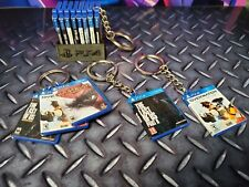 Miniature PS4 Game KeyRings - The Last of Us & More! buy 3 get a FREE mini stand
