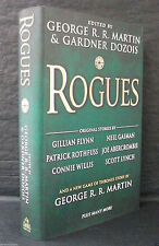 ROGUES Patrick Rothfuss Joe Abercrombie DOUBLE SIGNED US 1st ED HB/DJ