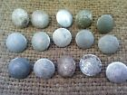 15 original buttons 19mm. Germany, Eastern front.Wehrmacht.WW II