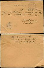 CORFU 1917 SERBIAN MILITARY MAIL + CENSOR to MONTPELLIER
