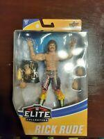 WWE No Robe-wearing Ravishing Rick Rude Mattel Elite Series 77 Figure In Hand!