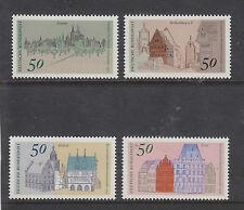 WEST GERMANY MNH STAMP DEUTSCHE BUNDESPOST 1975 ARCHITECTURE  SG 1756-1759