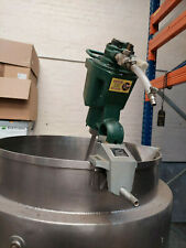 More details for stainless steel mixing vessel and air mixer for industrial use.