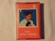 GIANNA NANNINI Puzzle mc cassette k7 COME NUOVA LIKE NEW!!!