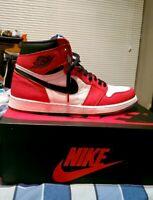 Nike Air Jordan 1 Retro High OG Spider Man Origin Story 555088-602 SIZE 14