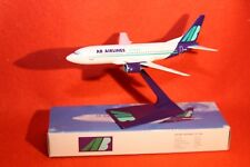AB AIRLINES  BOEING 737-300 PLASTIC PUSH FIT MODEL+STAND 1-200 SCALE APPROX