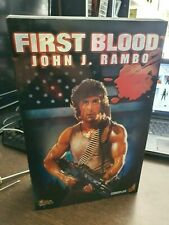 Hot Toys MMS 21 First Blood John J. Rambo Sylvester Stallone 1/6 figure sideshow