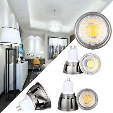 GU10 MR16 GU5.3 E27 LED Regulable chip-on-board Bombillas Spotlight 6W 9W 12W SS55 Lámpara Brillante