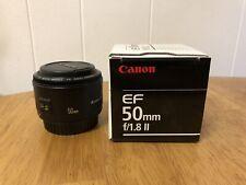 Canon EF 50mm f/1.8 II DSLR Lens