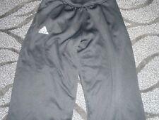 Men's Adidas Black Climawarm Sweatpants Size Medium with white logo