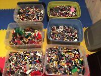 Lego Lot of 1 Lbs Bricks Random From Huge Bulk Assorted Clean Pieces