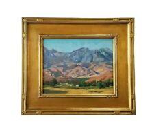 California Artist REY. Fine Oil Painting Plein Air Valley Ranch Impressionism
