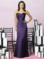 After Six Formal Dress Evening Gown sz 16 Concord Satin #6628 $240