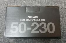 Brand New fujifilm XC 50-230mm f/4.5-6.7 OIS II Lens fuji Black FREE SHIPPING