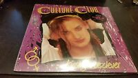 CULTURE CLUB Kissing To Be Clever Vinyl Record LP w/ Hype Sticker