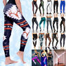 Women Push Up Hip Compression Tights Yoga Pants Fitness Running Stretch Trousers