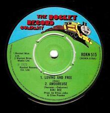 KIKI DEE Loving And Free EP Vinyl 7 Inch Rocket ROKN 515 1976