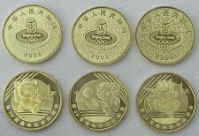 China 3x 1 Yuan Olympiade 2008 unz